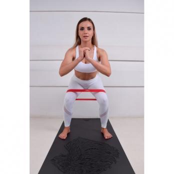 Коврик для йоги Lion grey Yogamatic