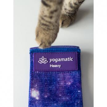 Тканевые фитнес ленты Космос (комплект 2 штуки) Yogamatic