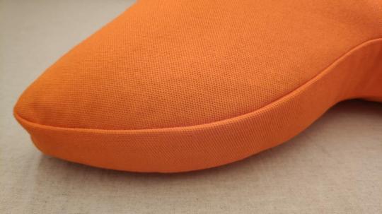 Подушка для медитации оранжевая