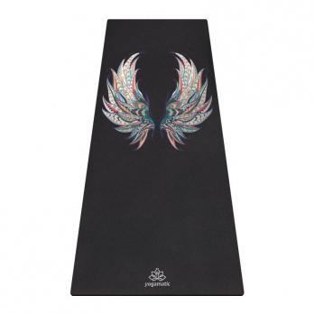 Удлинённый коврик для йоги Крылья Yogamatic
