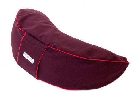 Подушка для медитации полумесяц Zafu Zen