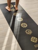 Коврик для йоги Pro Chakras Gold Yoga club_3