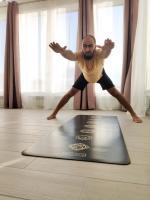 Коврик для йоги Pro Chakras Gold Yoga club_7