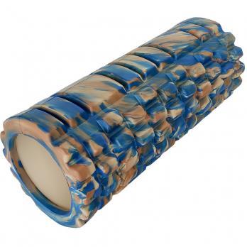 Ролик массажный foam roller mix 33*14 см