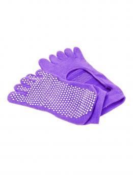 Носочки для йоги с пальчиками и вырезом Bradex